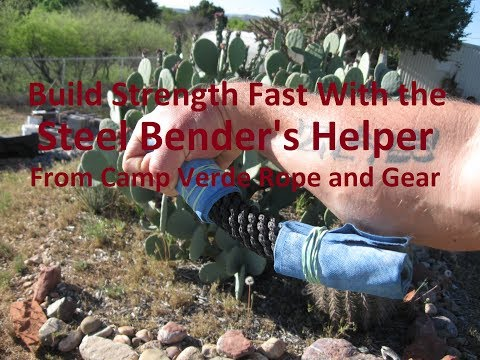 Steel Bender's Helper™ Ratings: Pounds of Force Required to Bend Them