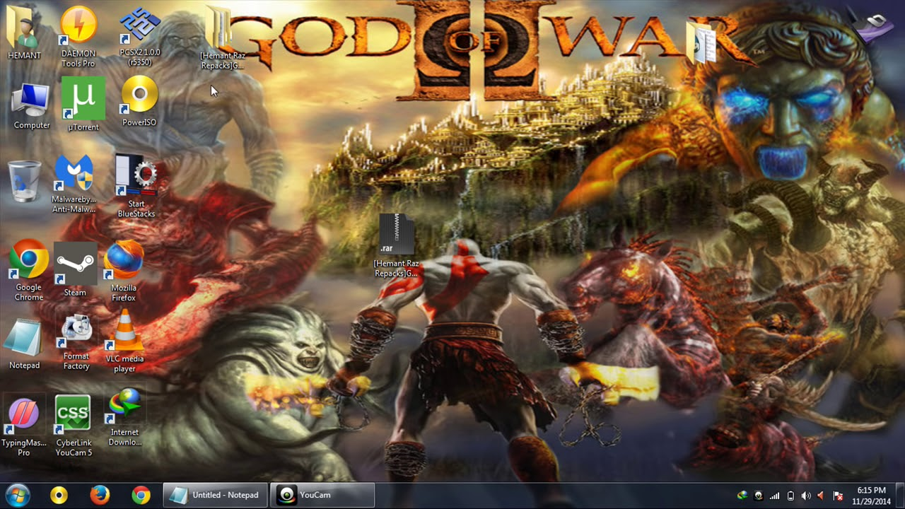 Download god of war 4 ascension highly compress.
