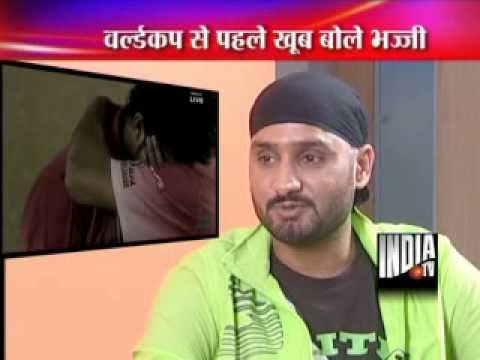 Harbhajan Singh Exclusive Interview On India TV