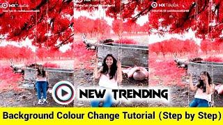 Video Background Colour Change MX Taka Tak   MX Takatak New Trend  Background Colour kaise Change