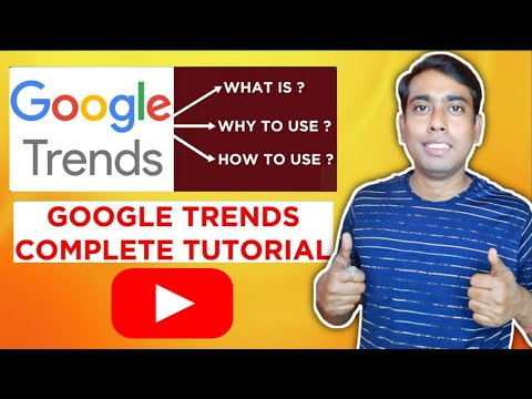 Google Trends Tutorial For Beginners   How To Use Google Trends For Youtube In Hindi
