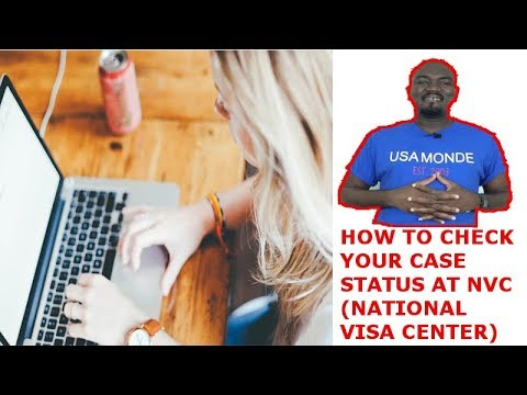 HOW TO CHECK YOUR CASE STATUS AT NVC (National Visa Center)
