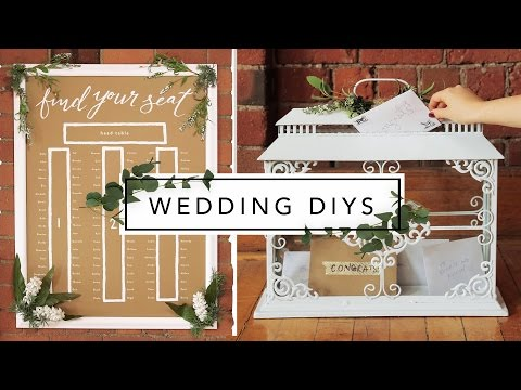 WEDDING DECOR FROM THRIFT STORE ITEMS!