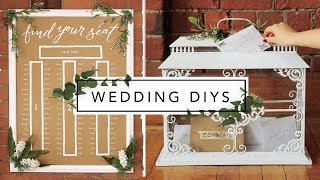 WEDDING DECOR FROM THRIFT STORE ITEMS! thumbnail