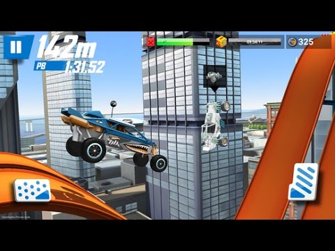 HOT WHEELS RACE OFF Android / iOS Gameplay Trailer