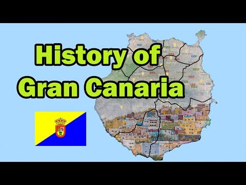 The Comple Detailed History Of Gran Canaria 4K (Evey-Year)
