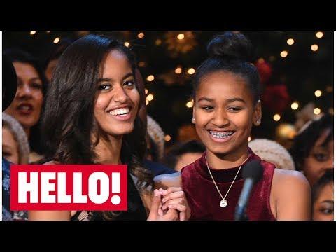 Malia And Sasha Obama's Style Evolution | Hello