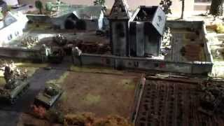 vuclip The Big 11.5K Bolt Action Game on Dread Lun's 100% Scratch Built 8x6 Table