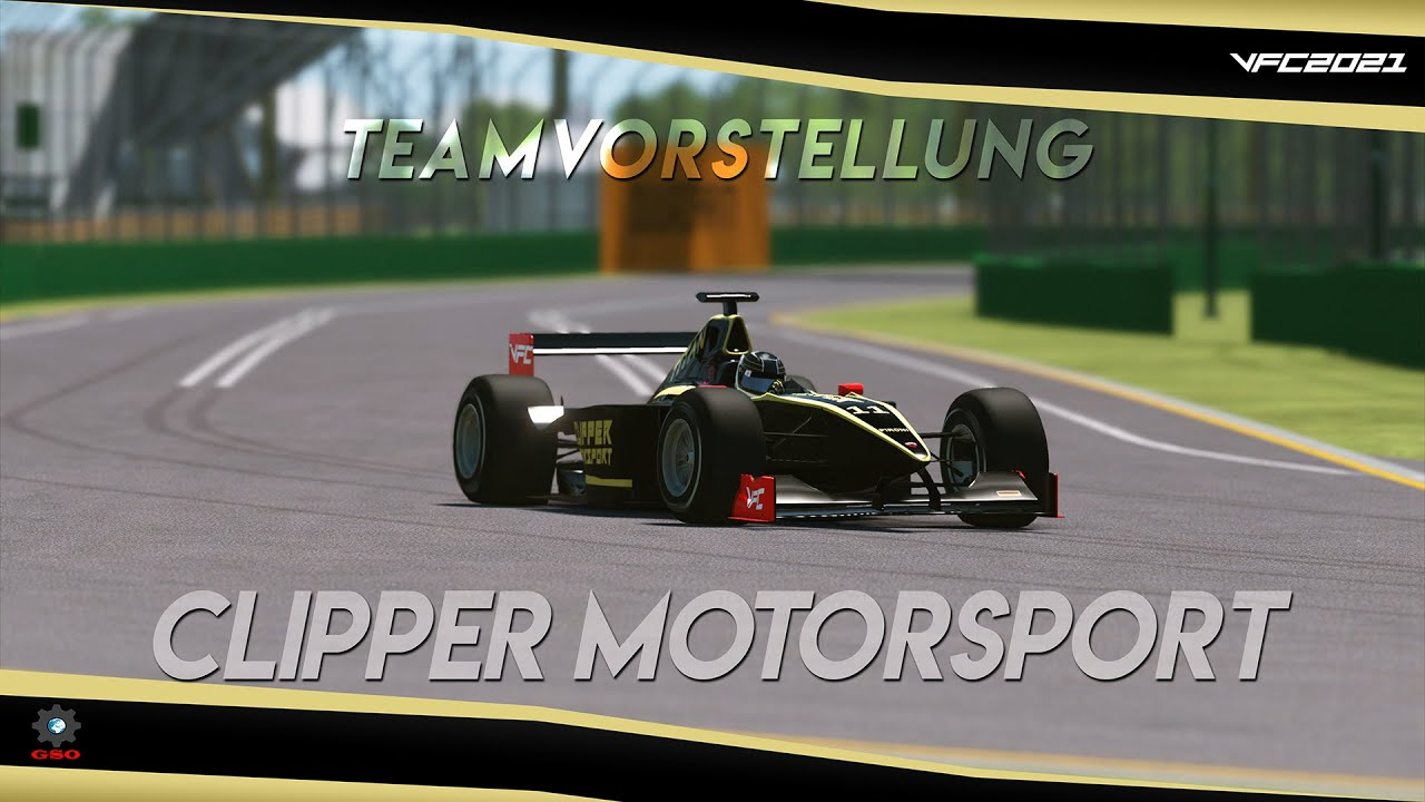 Virtual Formula Championship 2021 - Clipper Motorsport Teamvorstellung