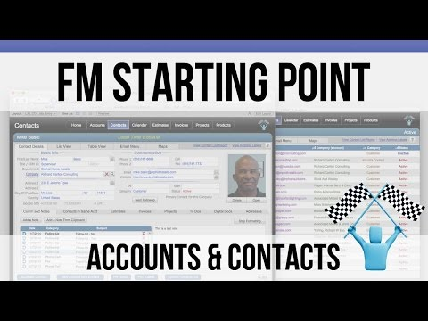 FileMaker FM Starting Point: Accounts and Contacts Modules