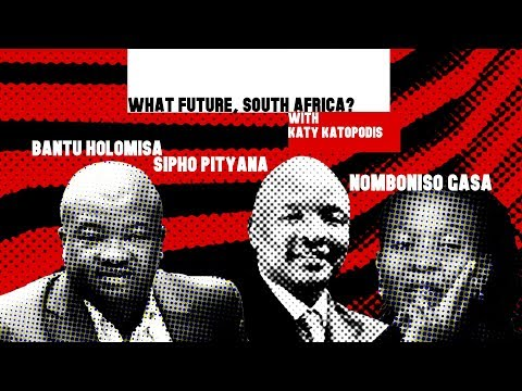 Katy Katopodis hosts the 'What Future South Africa?' panel | The Gathering 2017