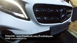 Evo Malaysia.com | 2017 Mercedes Benz GLA 200 In-depth Walk Around