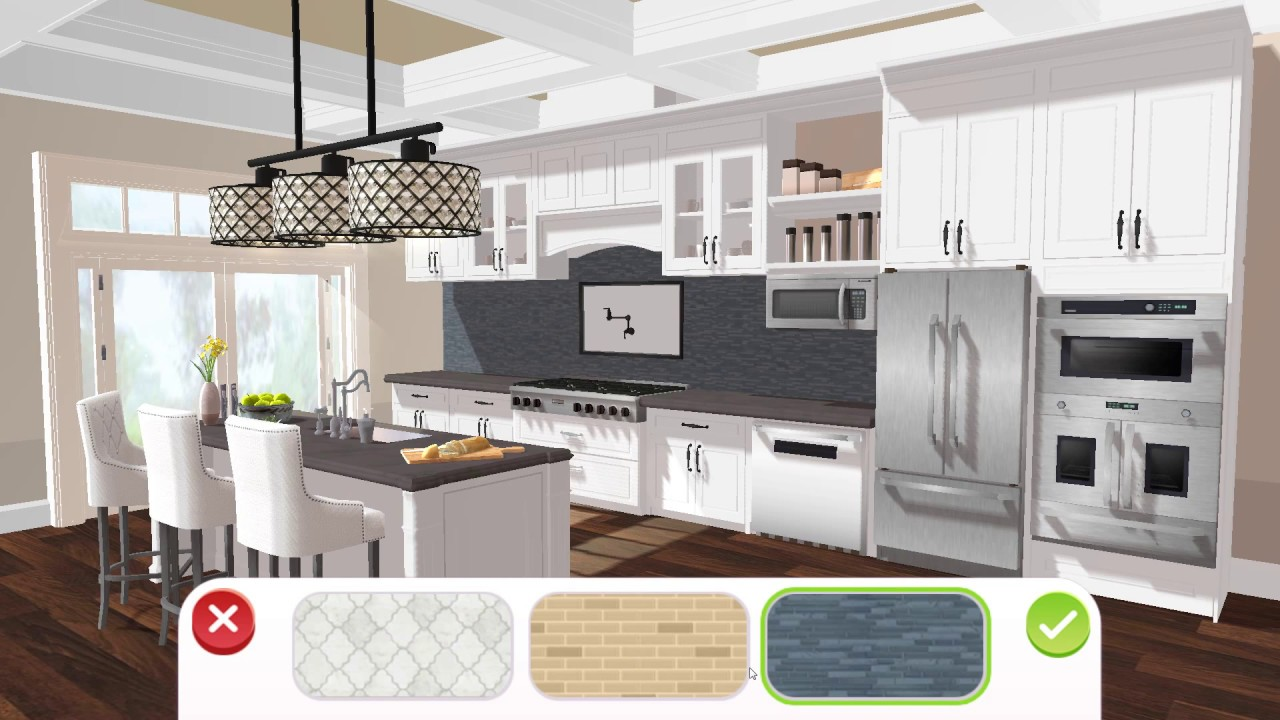 Home Design Makeover Part 2 Kitchen And Bathroom Gameplay Story Hd