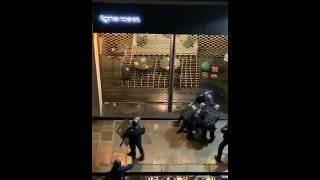 7 French riot police attack a civilian