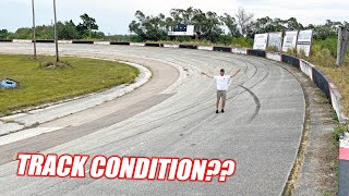 Freedom Factory TOUR #1 - How Bad is the Track, Plans For New Shop, Burnout Pad Layout!