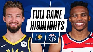 Game Recap: Wizards 154, Pacers 141