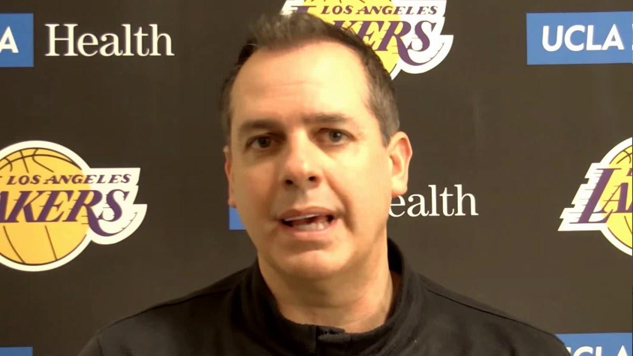Frank Vogel pregame thoughts - Lakers vs Hawks