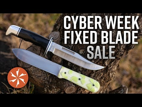 Cyber Week Fixed Blade Sale Happening Now At Knifecenter.com