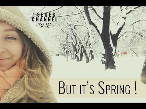 Winter on spring, Lithuania 2016 | Kichen vlog