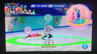 Mario & Sonic at the Sochi 2014 Olympic Winter Games Figure Skating Pairs 257