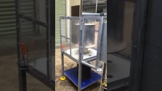 Newcastle University - Vertical Axis Wind Turbine Test - Group D