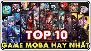 TOP 10 Game Moḃile MOBA Hấp Dẫn Hàng Đầu Thế Giới - Moon Su