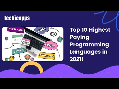 Top 10 Programming Languages To Learn In 2021 For Highest Pay!