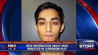 New information about man arrested in terrorism plot