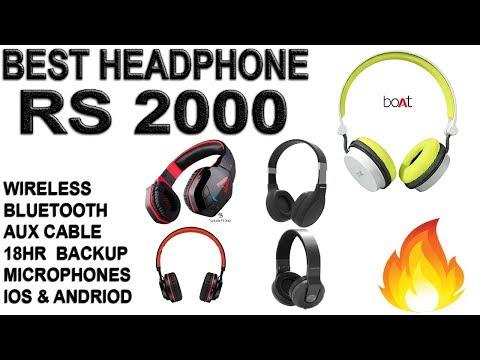 Best Wireless Bluetooth Headphones Under 2000 In India 2018 | Jan | Feb | March | GeekNocent