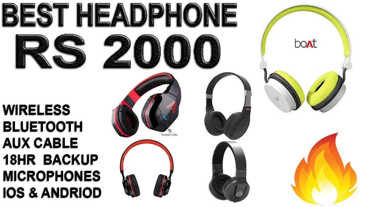 Best Wireless Bluetooth Headphones Under 2000 In India 2018 Jan Feb March Geeknocent Youtube