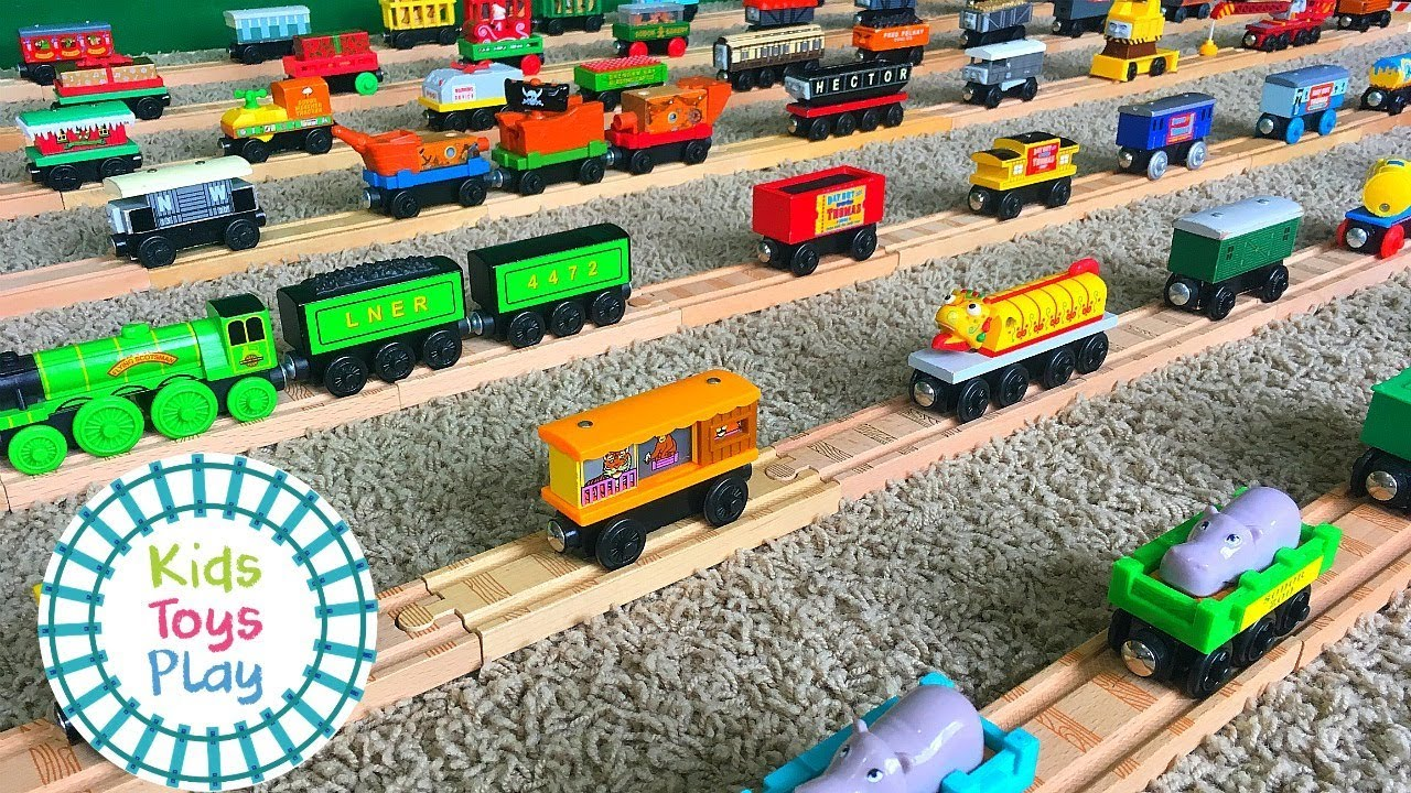 Thomas And Friends Wooden Railway Collection Thomas Wooden Railway Collection Part 2 Of 2