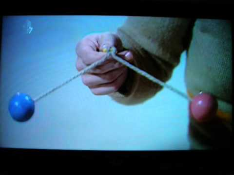 Stephen Fry-Gadget Man: Blue Peter - Dangers of the Clackers toy + Girl in bikini playing with hers!