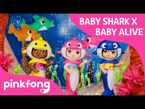 Baby Alive Presents: Pinkfong! Baby Shark Baby Alive Dance! | Baby Shark Dance