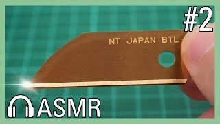 10만원 텅스텐칼날 VS 일반 커터칼날 [ASMR]