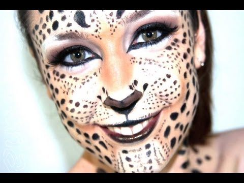 Maquillaje | Fantasía de Leopardo - YouTube
