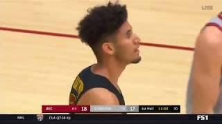 Men's Basketball: USC 76, Stanford 77 - Highlights 1/7/18