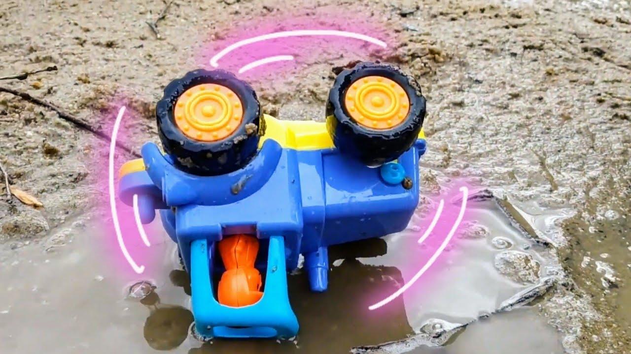 Мультики про машинки. Синий трактор и ураган. Машинки ...