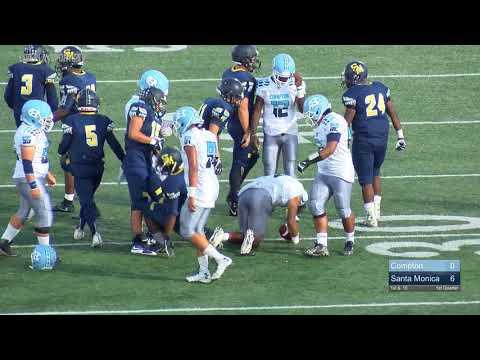 Compton vs Santa Monica Varsity Football 2017