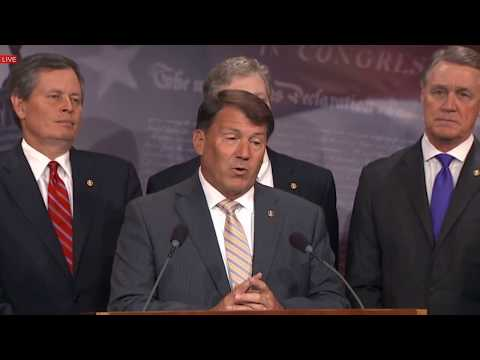 Republican Senators Hold News Press Conference on August Recess 7/10/17 HealthCare, Donald Trump Jr