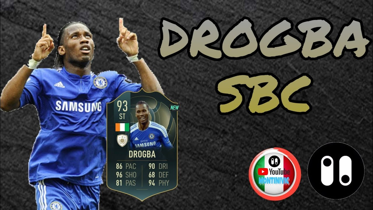 International Goals Didier Drogba Sbc Fut 19 By Pacybits By Pacybits20sbc Montinivic