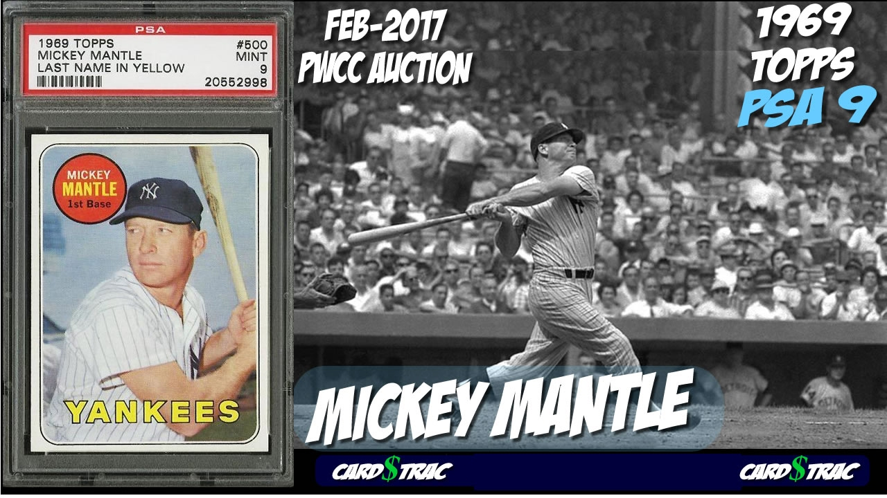 Sold 1969 Mickey Mantle Topps 280 Card For Sale Graded Psa 9 Pwcc Premier Auctions
