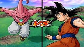 [TAS] DBZ BT3: Kid Buu Vs. Goku (End) (Super Enhanced Red Potara) (Request Match)