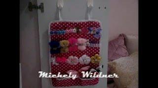 Organizador de fivelas para porta do guarda roupa – Diy