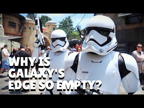 Why is Galaxy's Edge So Empty: A Few Reasons – /Film