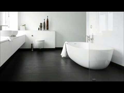 Badezimmer Ideen - Badezimmer Dunkler Boden