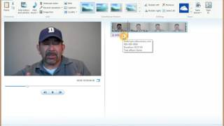 How to add text to video in windows movie maker