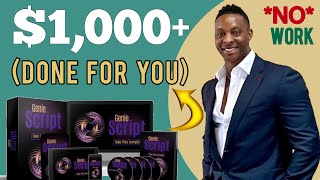 Genie Script Online - Earn More Than $1,000 - Make Money Online in 2021 thumbnail