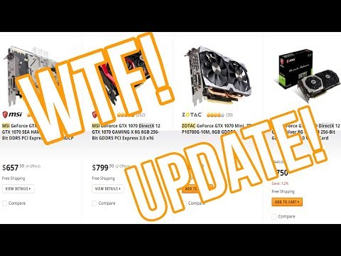 Don't Build a New Gaming PC Right Now - UPDATE
