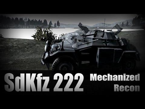 Heroes & Generals : Mechanized Recon [SdKfz222]