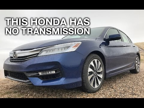 This Honda Has No Transmission